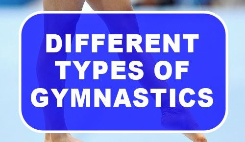Different Types Of Gymnastics
