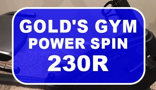 Gold Gym Power Spin 230R