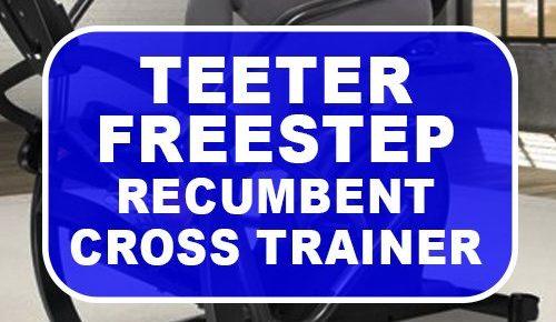 Teeter FreeStep Recumbent Cross Trainer and Elliptical