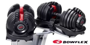 bowflex selecttech 1090 adjustable dumbbells pair