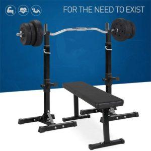 Pair of Adjustable Squat Rack