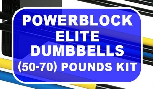 PowerBlock Elite Dumbbells 50-70 Pounds Expansion Kit