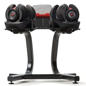 bowflex dumbbell rack