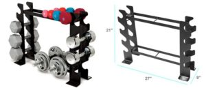 dumbbell weight stand