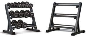 weights storage rack