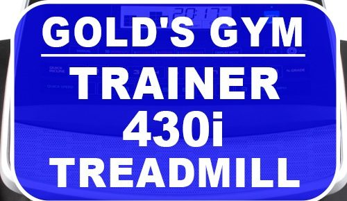 Gold Gym Trainer 430i Treadmill