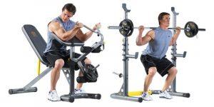 golds gym xrs 20