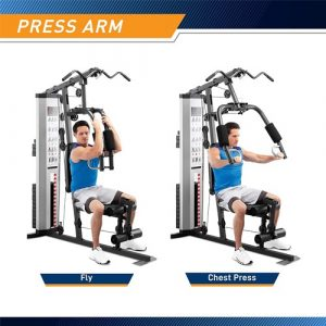 marcy mwm 988 150 lb stack home gym