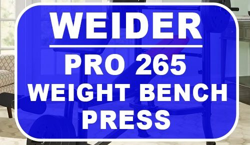 weider weight bench pro 265