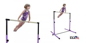 Nimble Sports Purple Junior Adjustable Horizontal Bar