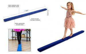Powerfly 8ft Gymnastics Balance Beam