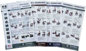 Dumbbell Workout Poster