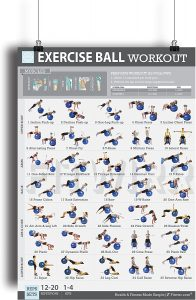 Fitness Balance Ball Gym poster