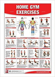 Home Gym Weight Lifting poster