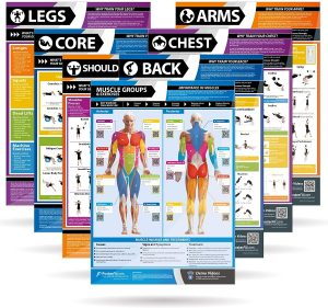 Laminated Gym & Home Poster