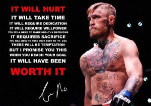 Mark Mountford Conor McGregor MMA Fighter